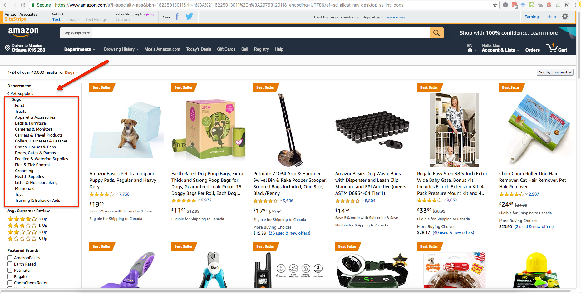 seed keyword research amazon products