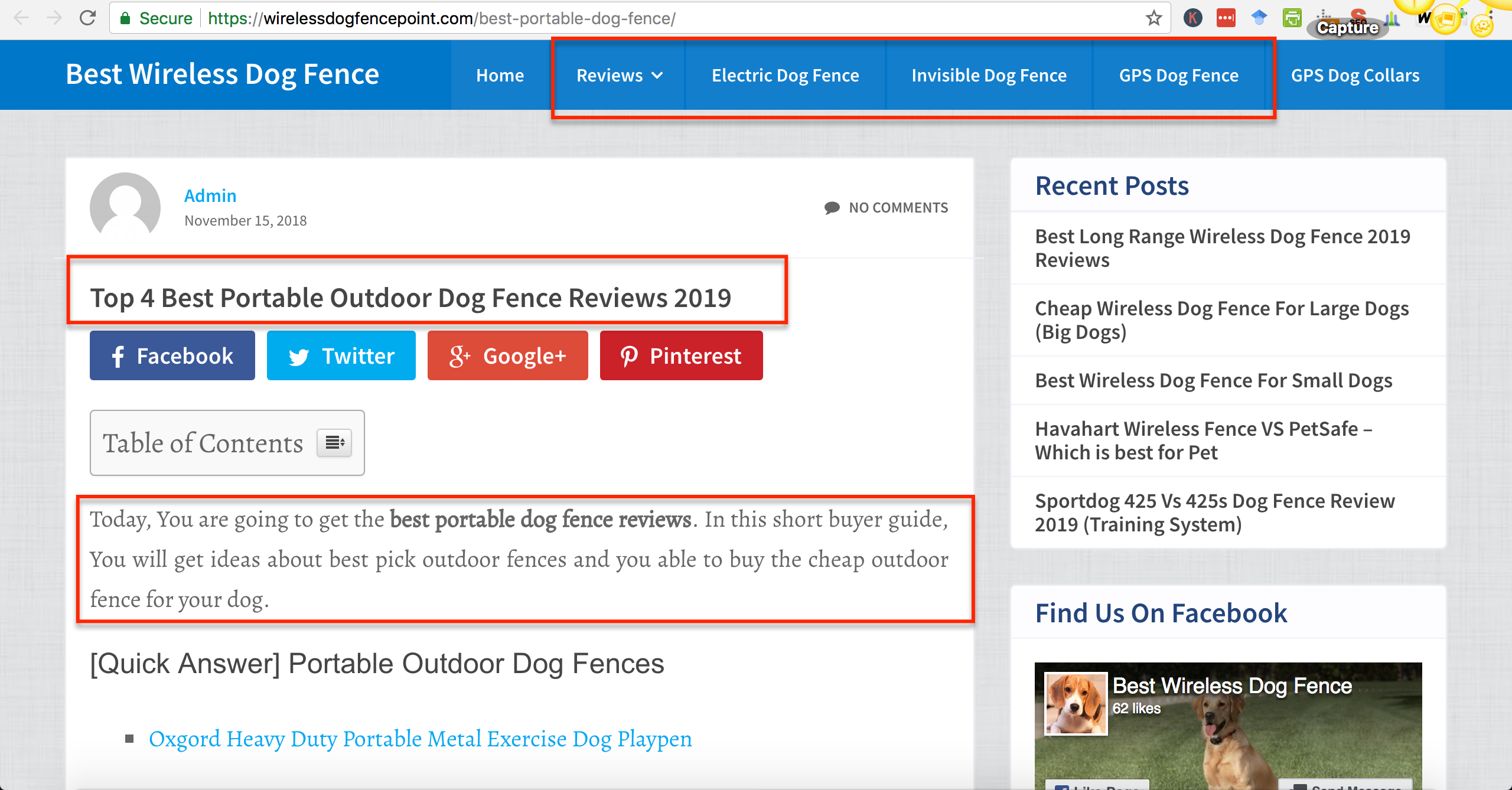 topics map ahrefs competitor method wireless dog fence