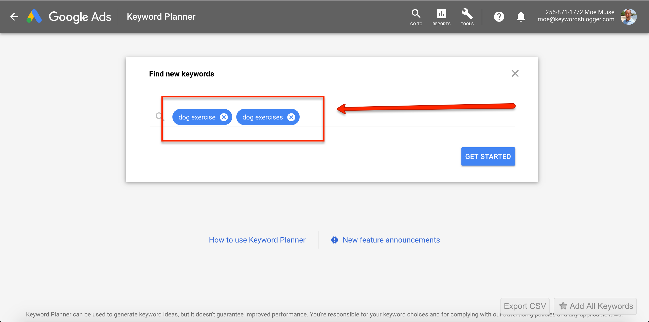 How to Use Google Keyword Planner to Find Informational & Commercial Keywords