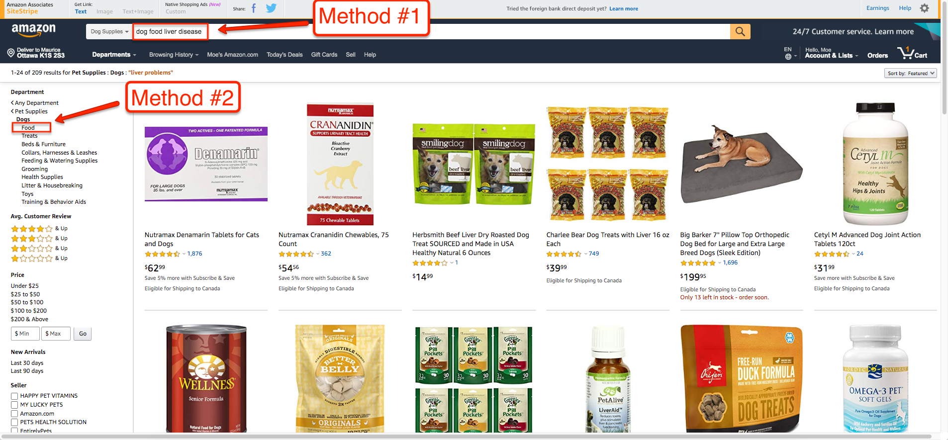 How to Find Affiliate Products Using Amazon's Departments Directory