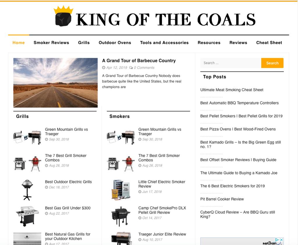 kingofthecoals_niche_site